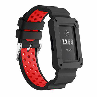For Fitbit Charge 3 Watch Strap Protective Cover Silicone Sports Style Band