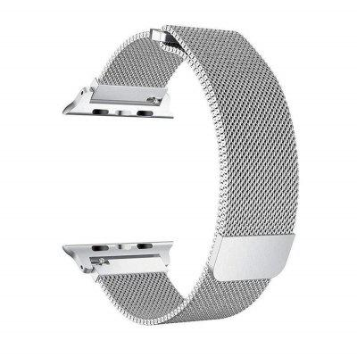 Watch Band for iWatch Series 4 Stainless Steel Mesh Milanese Loop Replacement