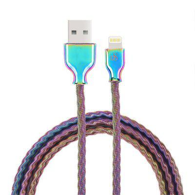 D8 Mfi Certified Dazzle Color Metal Cable For iPhone X/8/7 Plus 1m Data 8pin