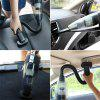 Wireless Car Vacuum Cleaner Dry Wet Dual-Use Household Hand-held - BLACK