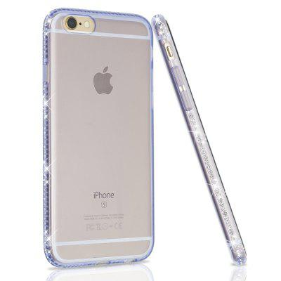 Glitter Bling Transparent Soft Case for iPhone 6 / 6s