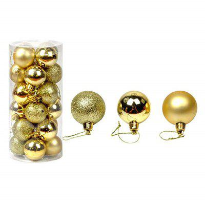 3CM Christmas Ball Party Tree Hanging Home Decoration 24 szt