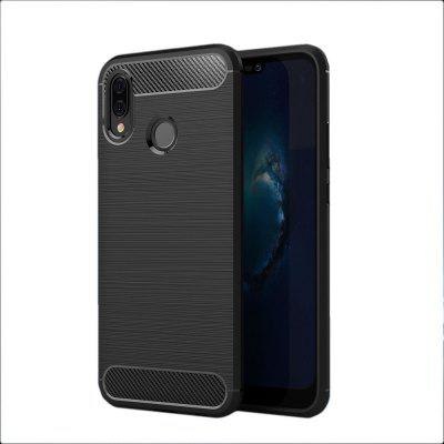 Anti-Fall Carbon Fibre Cell Phone Case for Huawei P20 Lite