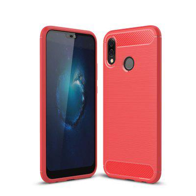 Arbon Fibre Anti-Fall Cell Phone Case for Meizu 16TH Plus