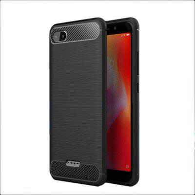 Arbon Fibre Anti-Fall Cell Phone Case for Xiaomi Redmi A6