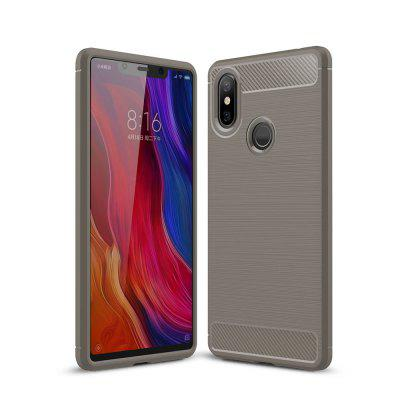 Arbon Fibre Anti-Fall Cell Phone Case for Xiaomi 8