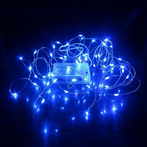 Christmas Led Strip Lights.5m Led Strip Light Battery Fairy Lights Garlands Christmas Holiday Wedding Party