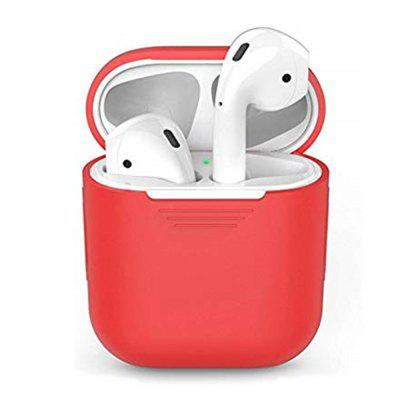 Silicone Headphones Case for AirPods Headset Protective Sleeve Storage Box