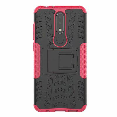 Dual Layer Shockproof Slim Protective with Kickstand Case for Nokia X5