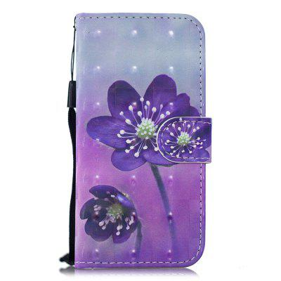 for SamSung J6 2018 PU Wallet Protective Case 3D Painted Leather Case