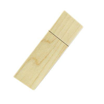 Wooden Memory Stick USB Flash Disk Creative Drive