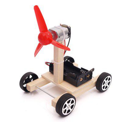 DIY Air Powered Vehicle Kinderen Science Education Toy