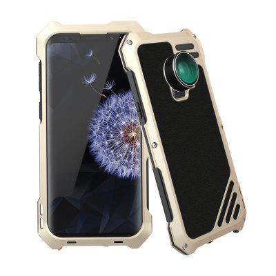 Water-Resistance Metal Case with 3 Camera Lens for Samsung Galaxy S9 / S9 plus