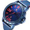 MINI FOCUS Original Top Brand Fashion Men's Quartz Wrist Watches Military Clock - BLUE