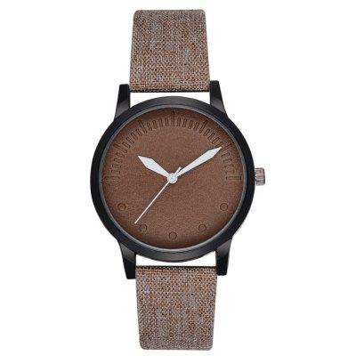 Men'S Leisure Travel Joker Quartz Watch Cowboy Fashion Watch