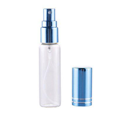 18MM Tube Transparent Glass Tangential Aluminum Cover Travel Portable Sub-Bottle