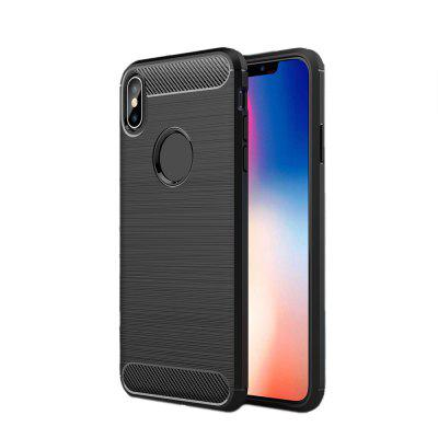 Anti-Fall Carbon Fibre Cell Phonecase for iPhone XS Max