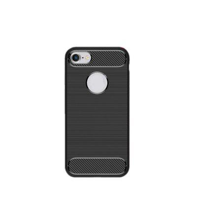Arbon Fibre Anti-Fall Cell Phone Case for iPhone 8