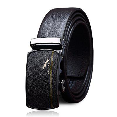 Men's Belt Chic Design Automatic Buckle Business Belt Accessory