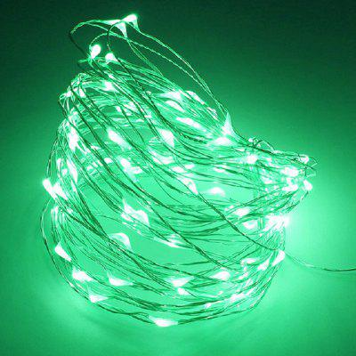 10M Strip Light Battery Fairy Lights Garlands Christmas Holiday Wedding Party
