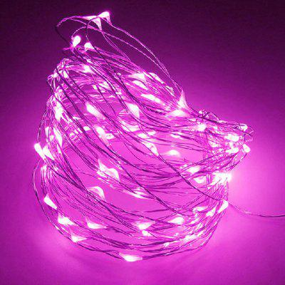10M Strip Light Battery Fairy Lights Guirnaldas Navidad Fiesta de boda