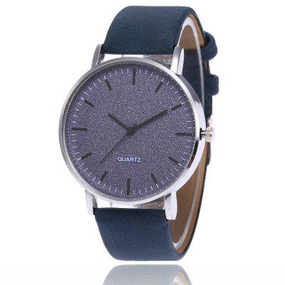 New Fashions Men and Women Creative Scale Dial Leisure Quartz Belt Watch