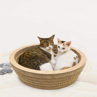 Cat Scratcher Lounge with Superior Cardboard  Construction
