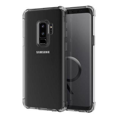 Mrnorthjoe Shockproof Armor Clear Back Case Cover for Samsung Galaxy S9 Plus