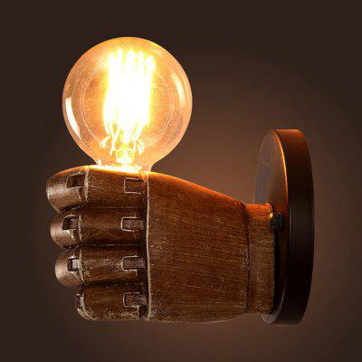 Retro Industrial Wind Hand Holding Wall Lamp