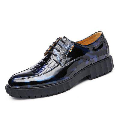 Men Business New Fashion Leather Lace-Up British Style Formal Shoes