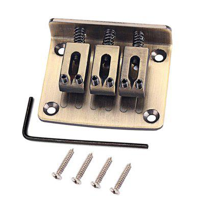 Box Guitar Parts 3 String Bronze Hard-coada reglabil Pod