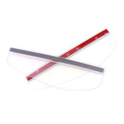 2PCS car rearview mirror rain eyebrow visor rain eyebrow
