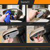 2PCS car rearview mirror rain eyebrow visor rain eyebrow - TRANSPARENT