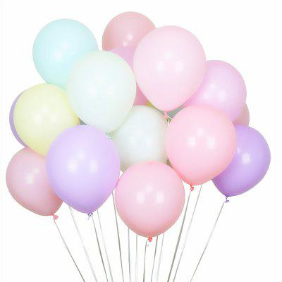100 PCS 10 Inch Thicken Assorted Candy Color Balloons for Party