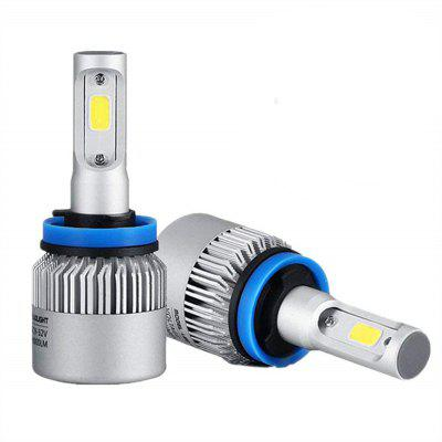 72W 8000LM COB LED Car Headlight Fog Lamps Bulb