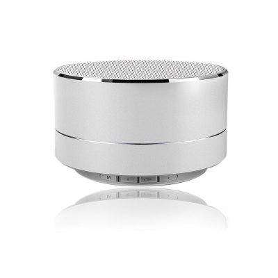Mini Metal Wireless Bluetooth Speaker Loud with Mic Support TF Card