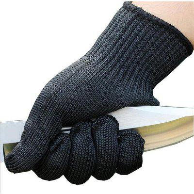A pair of anti cut protective self-defense level 5 wire gloves