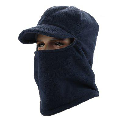 Men and Women Windproof Skiing Plus Thickening Outdoor Warm Hooded Hat 8896431a9250