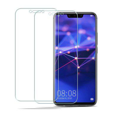 2PCS HD Screen Protector Vetro temperato a copertura totale per Huawei Mate 20 Lite