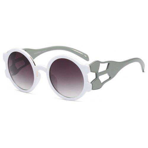 ca094ce1e03 Big Unique Hollow Legs Round Sunglasses -  13.15 Free Shipping ...