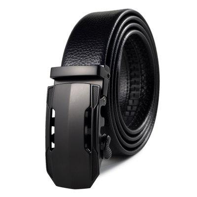 Men's Belt Trend Sports Car Automatic Buckle Business Casual Belt Accessory