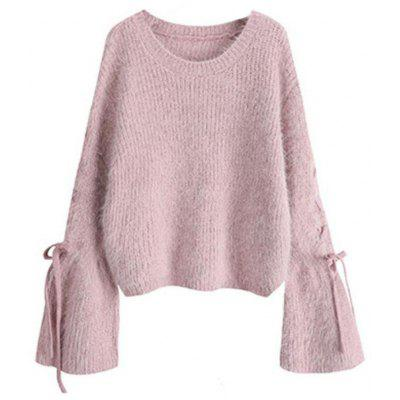 Women's Long Sleeve Loose Pullover Sweater
