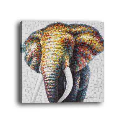 Modern Hotel Background Wall Abstract Elephant Decorative Mural