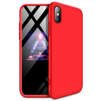 3 în 1 360 de grade Full Body Hard PC Back Cover caz pentru iPhone XS / iPhone X