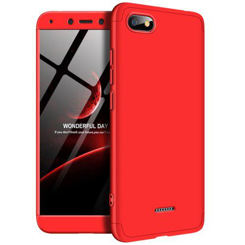 sports shoes b7dd2 19e24 3 in 1 360 Degree Full Body Hard PC Back Cover Case for Xiaomi Redmi 6A