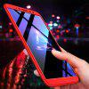 3 in 1 360 Degree Full Body Hard PC Back Cover Case for Xiaomi Redmi S2 - RED