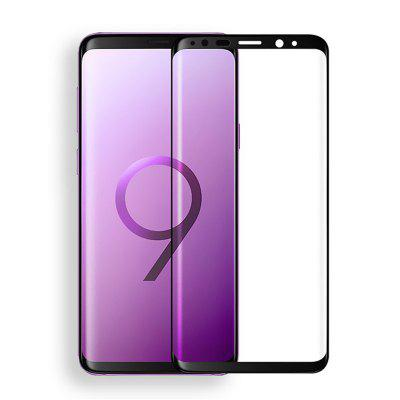 3D Curved Tempered Glass Teljes képernyős védelem a Samsung Galaxy S9 Plus-hoz