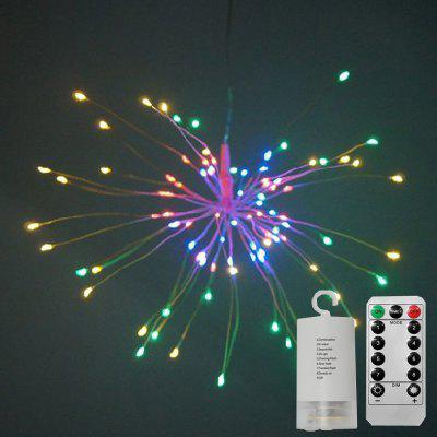 Explosion Star Fireworks Lamp Battery Box Lamp String