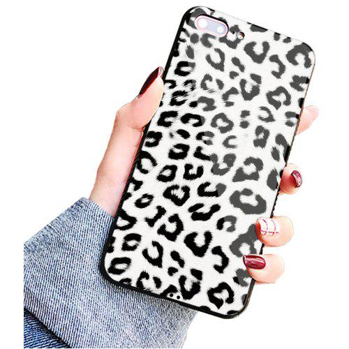 newest 7b00c 2ef4c Leopard Print Fashion Sexy Soft Phone Case Cover Protective for iPhone 8  Plus