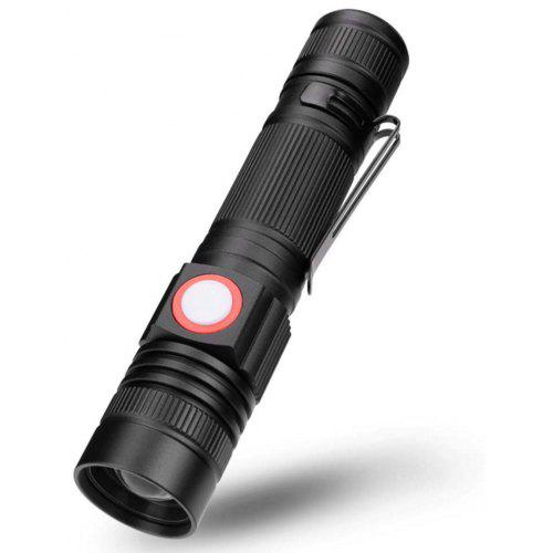 Cree Q5 Ultrafire 1000Lm Zoomable Led Flashlight Handle Bar Clamp Bicycle Light